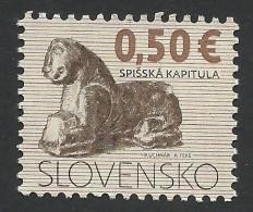 Slovakia, 0.50 E. 2009, Mi # 602, MNH - Nuovi