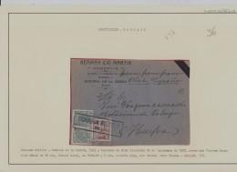 GUERRA CIVIL - BADAJOZ - FRONTAL - 1931-50 Brieven