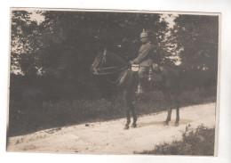 Nr.  6907,  FOTO, 11x7,5 Cm,  Reiter Mit Pickelhaube - War 1914-18