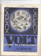 GAZETTE DE L'ELECTRICIEN  -VOLT- ALSTHOM  N° 55  - 15 NOV. 1931revue Périodique Publié Par La Sté Gle De Construction él - Livres, BD, Revues