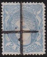 Espana            Yvert      112             O             Cancelled  /  Oblitéré - 1868-70 Provisional Government
