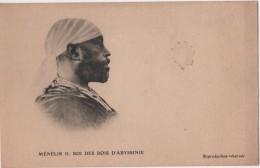 ETHIOPIA  Roi MENELIK - Ethiopie