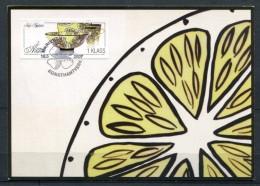2007 ALAND CM CARTE MAXIMUM ART ARTISANAL COUPE ET TASSES EN CERAMIQUE - Arte