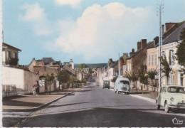 Cpsm  10X15 MARLE SUR SERRE (02) Faubourg St Nicolas ( Auto Et Camionnette Années 60) - France