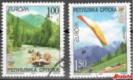 Bosnia Srpska - EUROPA 2004 Set Used - Bosnia And Herzegovina