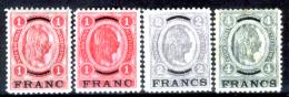 Creta 036 - Ufficio Austiaco - 1903: Y&T N. 5, 5a, 6, 7,(+) LH, Privi Di Difetti Occulti.- - Creta