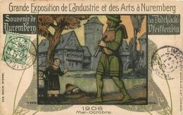 NUREMBERG GRANDE EXPOSITION DE L'INDUSTRIE ET DES ARTS  1906 - Sin Clasificación