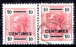 Creta 037 - Ufficio Austiaco - 1905: Y&T N.9, 9a,(+/o) LH, Privi Di Difetti Occulti.- - Creta