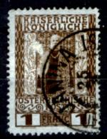 Creta 041 - Ufficio Austiaco - 1908: Y&T N. 20 (o), Privo Di Difetti Occulti.- - Creta