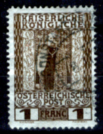 Creta 043 - Ufficio Austiaco - 1908: Y&T N. 20 (o), Privo Di Difetti Occulti.- - Creta