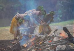 Fidschi  - Fijian Fire Walking - 2x Nice Stamps - Fidschi