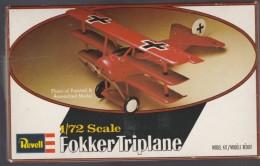 Fokker Triplan Dr. I, Revell1/72e - Vliegtuigen