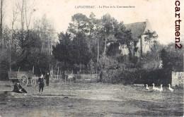 LAVAUSSEAU LE PLAN ET LA COMMANDERIE CHATEAU FERME 86 VIENNE - Francia