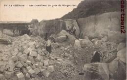 SAINT-CHERON LES CARRIERES DE GRES DE MIRGAUDON 91 ESSONNE - Saint Cheron