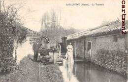LAVAUSSEAU LA TANNERIE ANIMEE METIER 86 VIENNE - Francia
