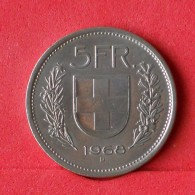 SWITZERLAND 5 FRANC 1968 B -    KM# 40a,1 - (Nº14765) - Switzerland