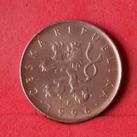 CZECH REPUBLIC 10 KORUNY 1996 -    KM# 4 - (Nº14778) - Tchéquie