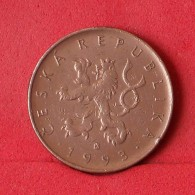 CZECH REPUBLIC 10 KORUNY 1993 -    KM# 4 - (Nº14779) - Tschechische Rep.