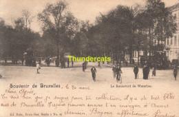 CPA BRUXELLES NELS SERIE 1 No 41 LE BOULEVARD DE WATERLOO - Avenues, Boulevards