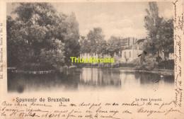 CPA BRUXELLES NELS SERIE 1 No 83 LE PARC LEOPOLD - Forêts, Parcs, Jardins
