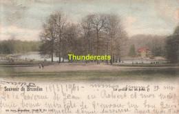 CPA BRUXELLES NELS SERIE 1 No 113 LE GRAND LAC AU BOIS - Forêts, Parcs, Jardins