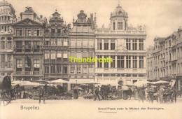 CPA BRUXELLES NELS SERIE 1 No 328 GRAND PLACE AVEC LA MAISON DES BOULANGERS - Places, Squares