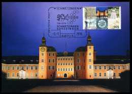 92964) BRD - MK 1/2016 = Michel 3204 - 68723 SCHWETZINGEN Vom 02.01.2016 - Aufl: 2.500 - 1250 Jahre Schwetzingen - Maximum Cards