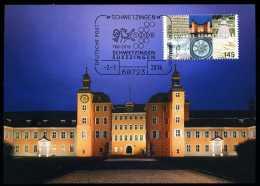 92966) BRD - MK 1/2016 = Michel 3204 - 68723 SCHWETZINGEN Vom 02.01.2016 - Aufl: 2.500 - 1250 Jahre Schwetzingen - Maximum Cards