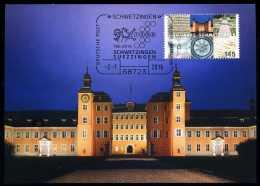 92967) BRD - MK 1/2016 = Michel 3204 - 68723 SCHWETZINGEN Vom 02.01.2016 - Aufl: 2.500 - 1250 Jahre Schwetzingen - Maximum Cards