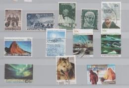 AUSTRALIE TERRITOIRE ANTARCTIQUE LOT 12 TIMBRES 1959/1997  COTE 23 € - Australisch Antarctisch Territorium (AAT)