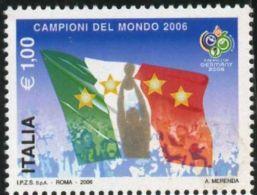 Italy, 2006, Mi. 3133, Sc. 2767, SG 3038, Italy-2006 World Cup Football Champions, MNH - Fußball-Weltmeisterschaft