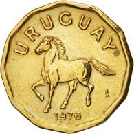 Uruguay, 10 Centesimos, 1976, Santiago, TTB, Aluminum-Bronze, KM:66 - Uruguay
