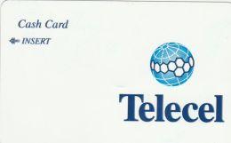 Congo - CDR-14, Telecel Blue Logo, NO Face Value, Used As Scan - Congo