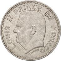 Monaco, Louis II, 5 Francs, 1945, TTB, Aluminum, KM:122, Gadoury:MC135 - Monaco