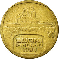 Monnaie, Finlande, 5 Markkaa, 1984, TTB, Aluminum-Bronze, KM:57 - Finlande