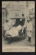 Deux Globe Trotters Le Tour Du Monde Heron Louis Et Viaud Deux Menuisiers Partie De Toulon Le 20 Mai 1913   Top - Toulon