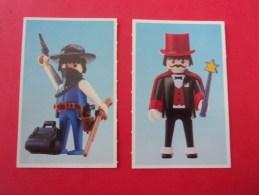 2 Images  Playmobil, Cowboy, Magicien, L'autre Côté Indienne, Indien - Playmobil