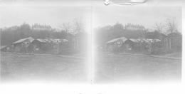 Guerre 14-18, Photo Stéréo Originale D'un Poilu, Offemont Février 1916 - Guerre, Militaire