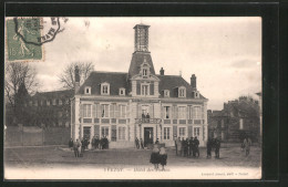 CPA Yvetot, Hôtel Des Postes - Yvetot