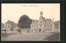 CPA Yvetot, L'hôtel Des Postes - Yvetot