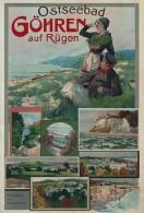 @@@ MAGNET - Ostseebad Göhren Auf Rügen - Reklame