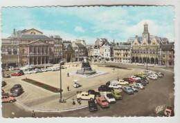 CPSM SAINT QUENTIN (Aisne) - Place De L'Hôtel De Ville - Saint Quentin
