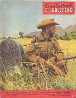 REVUE COMBATTANT INDOCHINE GUERRE CEFEO JUIN 1952 - Libros
