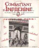 REVUE COMBATTANT INDOCHINE GUERRE CEFEO SEPTEMBRE 1951 - Libros
