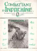 REVUE COMBATTANT INDOCHINE GUERRE CEFEO OCTOBRE 1951 - Francese