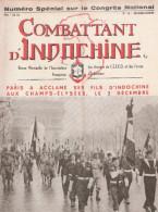 REVUE COMBATTANT INDOCHINE GUERRE CEFEO DECEMBRE 1951 - Libri