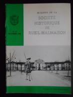"""""""Bulletin De La Société Historique De Rueil Malmaison"""" N°11 Décembre 1986 - Histoire"""