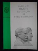 """""""Bulletin De La Société Historique De Rueil Malmaison"""" N°13 Décembre 1988 - Histoire"""