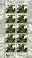 Lithuania 2016, Oak Forest MS 10v **MNH** - Trees