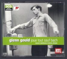 CD PIANO - GLENN GOULD JOUE TOUT SAUF BACH - MOZART, BEETHOVEN, BRAHMS, STRAUSS - COFFRET 3 CDs - Klassik